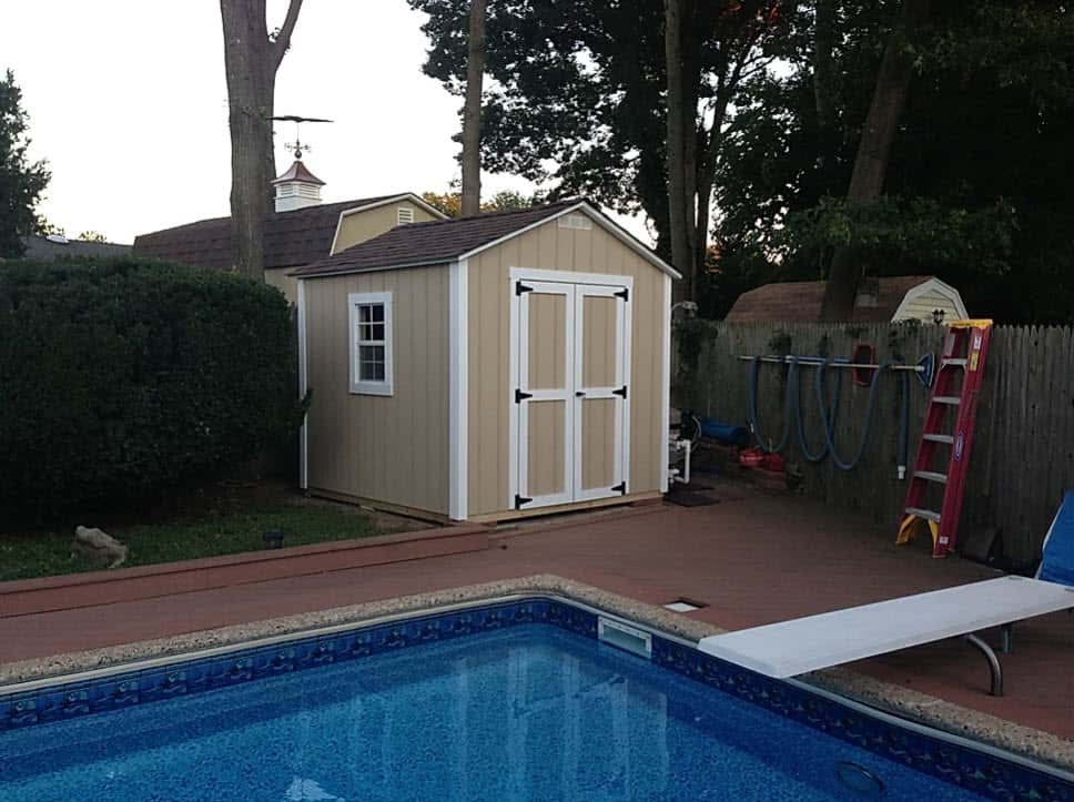 8x8 by pool